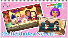 Tomodachi Life - ¡Felicidades Nerea! Zool y ¡Fran abducidos!