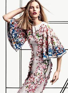 Dolce&Gabbana Spring Summer 2014, Vogue USA March 2014 -
