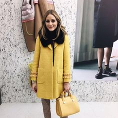 Olivia Palermo At Milan Fashion Week