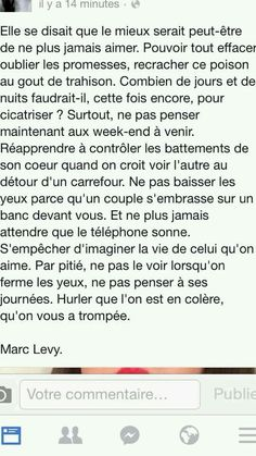 Marc Lévy quote in french