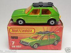 Matchbox Superfast No.7 Vw Volkswagen Golf Lesney - Google Search