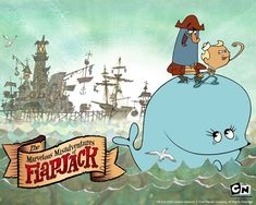 11 Classic Cartoon Network Shows: 'The Marvelous Misadventures of Flapjack'
