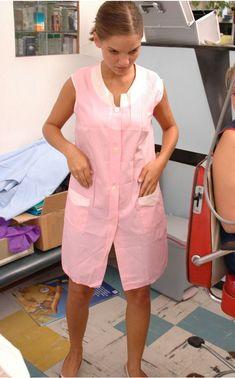 Nylons, Blouse Nylon, Staff Uniforms, Housecoat, Slip, Apron, Overalls, Shirt Dress, Shirts