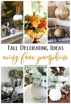 budget-friendly-fall-decor-using-faux-pumpkins-artsychicksrule-falldecor-fauxpumpkins