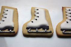 ice skates by iBakery- so cute!!!