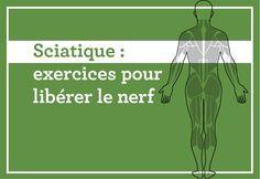 Exercices pour libérer le nerf—Trois phases sont nécessaires à la rééducation d'une sciatique. Voici la phase 2 - libération du nerf - issue du livre, Les exercices qui vous soignent, paru aux Éditions de l'homme.
