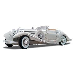 Maisto Quality Model New 1:18 Premiere Edition 1936 Mercedes Benz 500K Typ Specialroadster  Price : £26.58 http://ace-toys.hostedbywebstore.co.uk/Maisto-Quality-Model-New-Specialroadster/dp/B00080H3PW