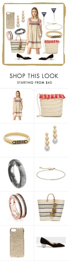 """""""New Spring Look"""" by paige-brrian ❤ liked on Polyvore featuring Rebecca Minkoff, Hat Attack, Nora Kogan, Elizabeth and James, Dinosaur Designs, Monica Vinader, Mar y Sol, Valenz Handmade, Paul Andrew and MAHA LOZI"""