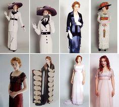 costume test Titanic Kate Winslet as Rose DeWitt Bukater design: Deborah Lynn Scott Costume Titanic, Titanic Dress, Titanic Movie, Kate Winslet, Vintage Outfits, Vintage Dresses, Historical Costume, Historical Clothing, Beautiful Costumes