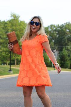 Fashion Friday: Vestido Laranja | CBBlogers