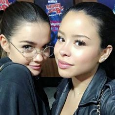 Maia Mitchell & Cierra Ramirez Verona, Adam Foster, Foster Family, Cierra Ramirez, Best Duos, Hope Mikaelson, Maia Mitchell, Family Is Everything, Soul Sisters