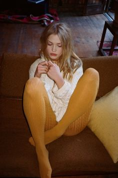 Camilla Christensen by Henrik Purienne for For Love & Lemons KNITZ Fall 2015