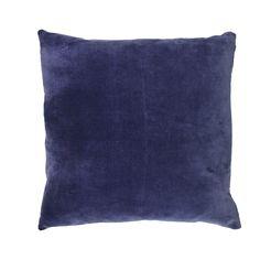 Putetrekk Velvet Blå Throw Pillows, Christmas, Home, Navidad, Cushions, House, Weihnachten, Ad Home, Decorative Pillows