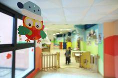Kindergarten/ asili nido cooperativa Giocolare, network orologio 2.0
