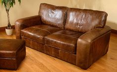 Maverick Aniline Leather Snuggler (Cerato)