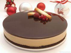 Tarta de chocolate blanco y crema de orujo - MisThermorecetas.com