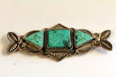 Vintage Turquoise Pin