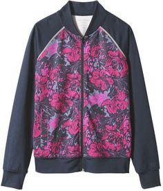8a23794626 Joe Fresh Women s Floral Bomber Active Jacket
