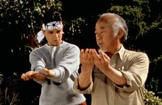 I'll cheat a bit and say the entire original Karate Kid series is on my list of favorites as well. Mostly for the training scenes. It's another good mental reset thing for me. The Karate Kid, Karate Kid Cobra Kai, Ralph Macchio, Miyagi, Kim Walker, Toshiro Mifune, Geena Davis, Best Kid Movies, 80s Movies
