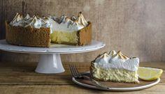 Lemon Curd Meringue Cheesecake