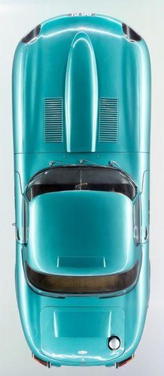 Jaguar E type - Aqua British Sports Cars, Classic Sports Cars, Classic Cars, British Car, Jaguar Type E, Jaguar Cars, Automobile, Top Cars, Car Car