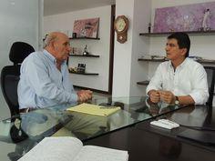 El alcalde de Popayán, César Cristian Gómez Castro, y el alcalde de Cali, Maurice Armitage, ratificaron su intención de trabajar mancomunadamente para fortalecer los proyectos de ciudad encaminados al deporte, la cultura y el área empresarial.