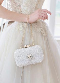 Wedding Wedges, Wedding Pumps, Wedding Clutch, Bridal Clutch, Wedding Bag, Bridal Traditions, Bride Tiara, Bridal Separates, Wedding Dress Styles