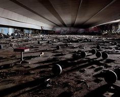 Abandoned Bowling alley in Japan