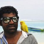 Our dinghy captain and his bird Dinghy, Cool Cats, Maldives, Happy Life, Beautiful Pictures, Mens Sunglasses, Bird, Boutique, Style