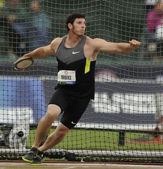 USA OLYPIC TEAM LONDON 2012 Lance Brooks-discus. From my hometown. no big deal :)
