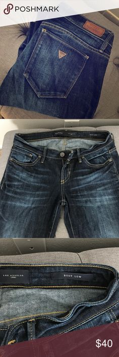 Boot cut guess jeans My favorite brand of jeans! Have so many pairs just need to get rid of some. Great quality Guess Jeans