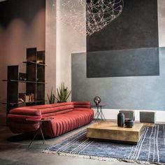 Contemporary Interior Design, Modern Interior Design, Contemporary Chandelier, Contemporary Paintings, Modern Contemporary, Sofa Design, Furniture Design, Wall Design, Design Design