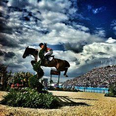 Olympics @Olympics  A big leap -- Photo by olympics • Instagram