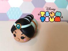DIY Tsum Tsum Princess Jasmine from Aladdin - Polymer clay tutorial - YouTube