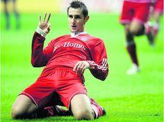 Miroslav Klose -FC Bayern Munich Football
