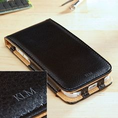 Personalized Next Generation Leather iPhone 5 Case