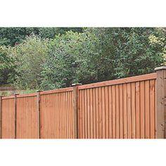 Grange Closeboard Fence Panels 1.83 x 1.8m 3 Pack   Closeboard   Screwfix.com