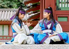 Taehyung and Seojoon ❤ Hansung in Hwarang! #BTS #방탄소년단