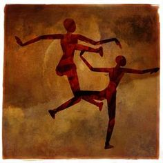 And So They Dancedvia @terryfleckney #dancers #wallart #homedecor