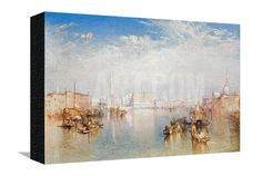 View of Venice: the Ducal Palace, Dogana and Part of San Giorgio, 1841 Giclee Print by J. M. W. Turner at Art.com
