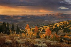 Park City, Utah, shines in the fall
