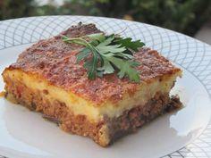 Cookbook Recipes, Kitchen Recipes, Pork Recipes, Cooking Recipes, Healthy Recipes, Cooking Ideas, Minced Meat Recipe, Greek Cooking, Eggplant Recipes