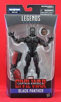 "Black Panther Marvel Legends 6"" Action Figure BAF Giant Man Captain America New #Hasbro"