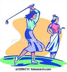 A Woman Who Loves Golf blog... Tournament themes!