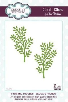 Sue Wilson Finishing Touch Dies - Delicate Fronds