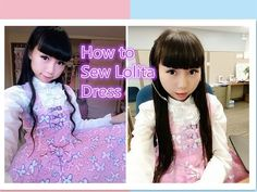 89ea641c16 How to Sew Sweet Lolita Dress for Beginners- Without Zipper and Elastic  Band - YouTube