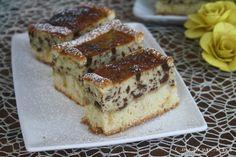 La torta di ricotta e cioccolato una vera delizia per il palato.