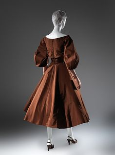 Cocktail dress... Charles James, 1952-54, American, silk