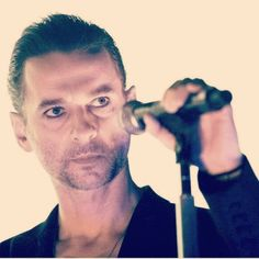 Oh my, this man is some fine wine! Dave Gahan, Delta Machine Tour. Can't wait to see them in Sept!!!!