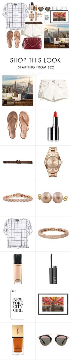 """""""I Feel So Close"""" by austencatherine ❤ liked on Polyvore featuring Walls Need Love, H&M, Tkees, Le Métier de Beauté, Abercrombie & Fitch, Lacoste, Eddie Borgo, Splendid Pearls, Myne and Todd Reed"""